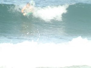 An Outer Banks summer swell