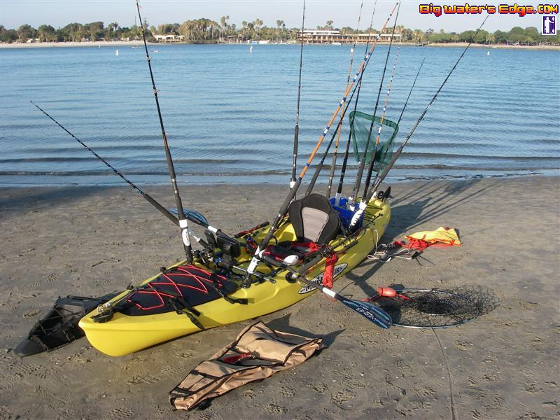how many rods do you take kayak fishing texas fishing